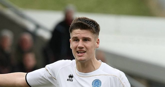 Sonny Bradley: Heads to Fratton Park