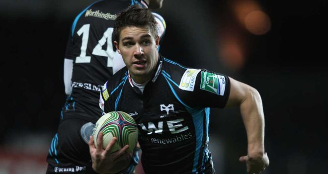 Rhys Webb: Will make 100th Ospreys appearance