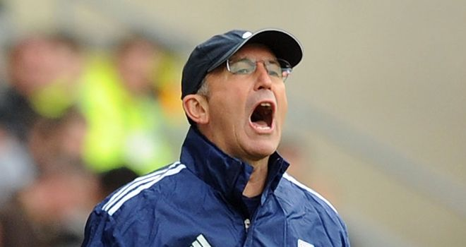 Tony Pulis: Not a fan of social networking and would prefer his players to do their talking on the pitch