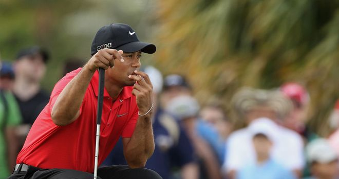 Tiger Woods: the American had reconstructive knee surgery back in 2008