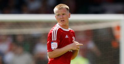 Matt Ritchie: Hit the woodwork for Swindon
