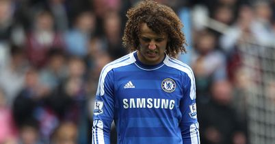 Luiz: Misses out with hamstring injury