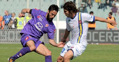 Mattia Cassani (left): Completed a move to Genoa