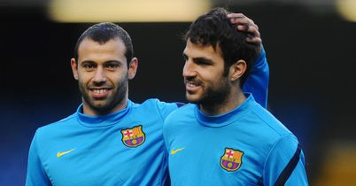 Javier Mascherano: Delighted to beat Sevilla
