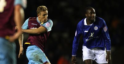Collison (c): Strikes West Ham's winning goal