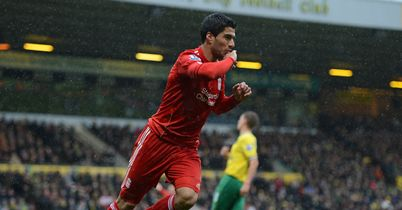 Suarez: Hit brilliant hat-trick