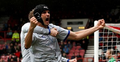 Llera: Celebrates his winner