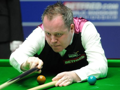 Higgins: Should be in relaxed mood to face Ebdon