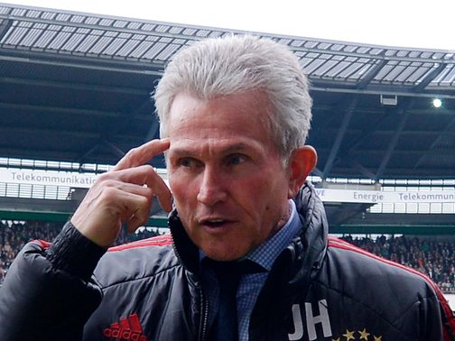 Heynckes: Labelled the criticism of Wenger as unfair