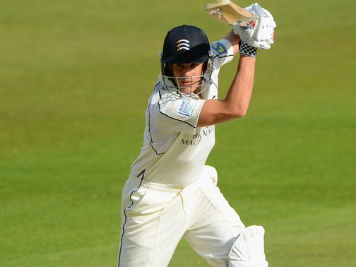 Neil Dexter: Hit a half-century for Middlesex
