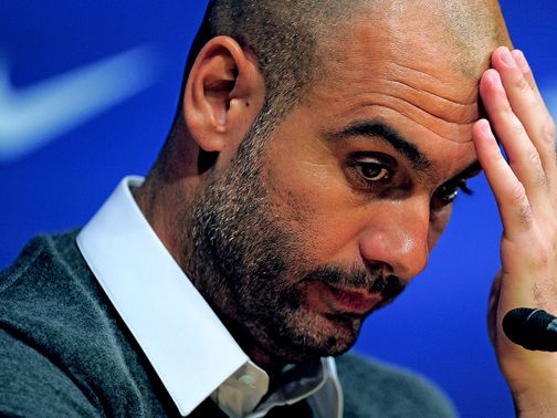 Pep Guardiola: Has been linked with AC Milan