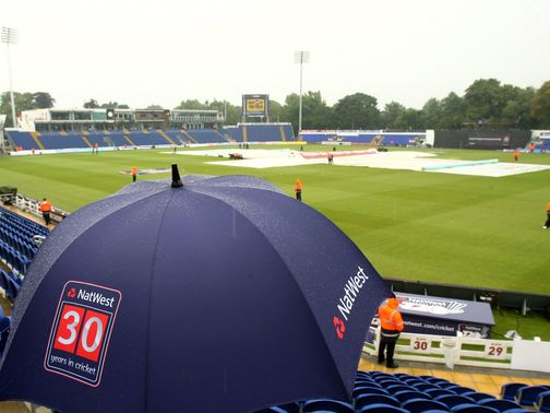 Swalec Stadium: No play possible
