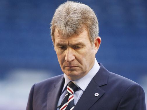 Sandy Jardine: Having treatment for cancer