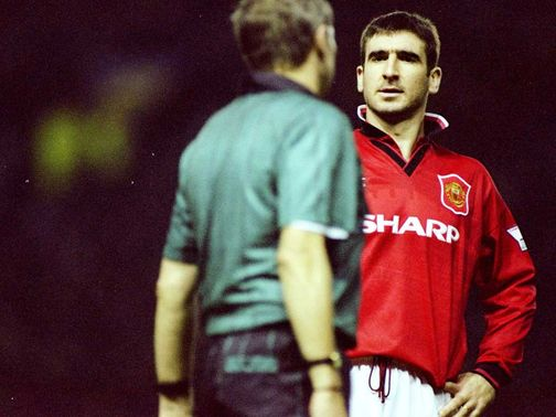 Cantona: Went on to become a Manchester United legend