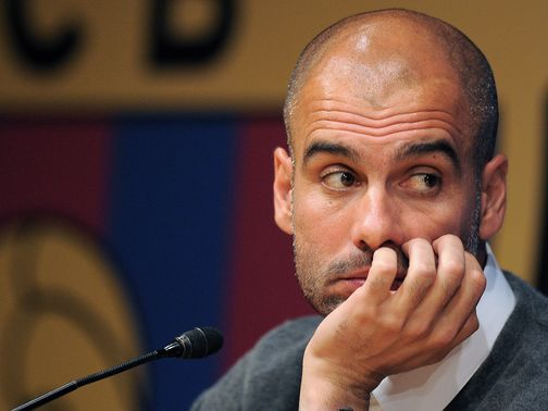 Pep Guardiola: Hinted at future move to England