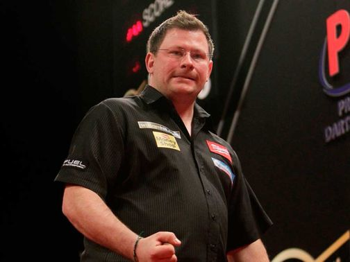 James Wade: Lost first match at Grand Slam