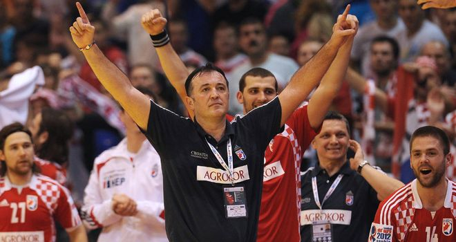 Slavko Goluza: Celebrates Croatian qualification