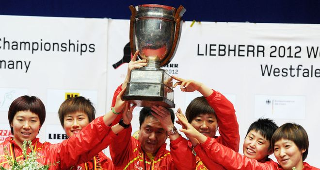 Golden Girls: China celebrate another team gold