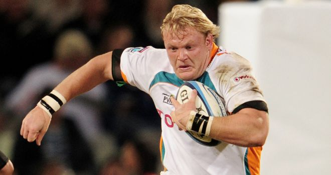 Adriaan Strauss: Cheetahs skipper led by example and scored his side's only try