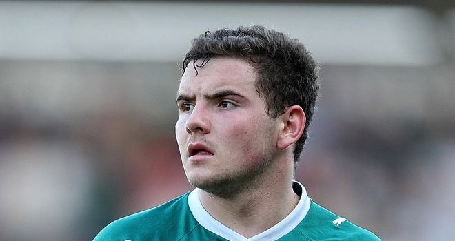 Alex MacDonald: Returned from a loan at Plymouth Argyle earlier in December