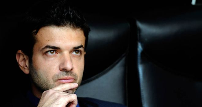 Andrea Stramaccioni: Thinks his side's win over Napoli shows they are heading in the right direction