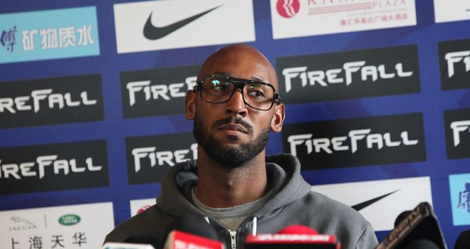 Nicolas Anelka: Reportedly set to leave Shanghai Shenhua in the wake of a pay dispute