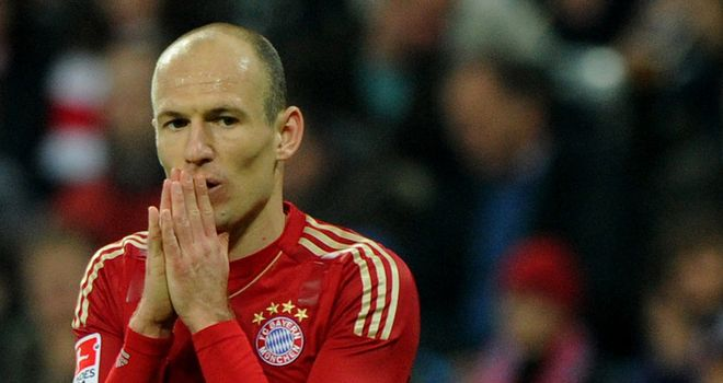 Arjen Robben: Has not signed a new contract with Bayern Munich and is enjoying interest from Juventus