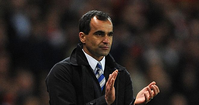 Roberto Martinez: Wigan manager has not been looking at league table despite recent rise