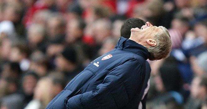 Arsene Wenger: The Arsenal boss says he is focused on beating West Brom on Sunday