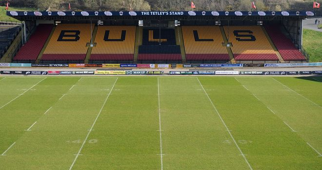 Bradford Bulls: have an outstanding VAT bill of 250,000 from sale of their Odsal lease to RFL
