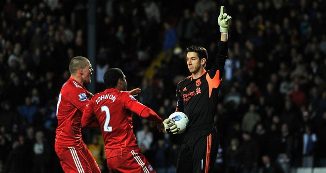 Brad Jones: Heading for Wembley and a date with Everton in the FA Cup semi-finals