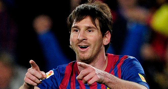Lionel Messi: Named on the shortlist for UEFA's Best Player in Europe award