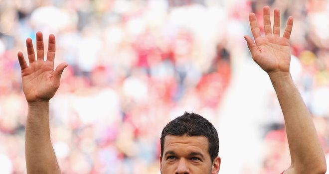 Michael Ballack: Intends to earn his coaching badges