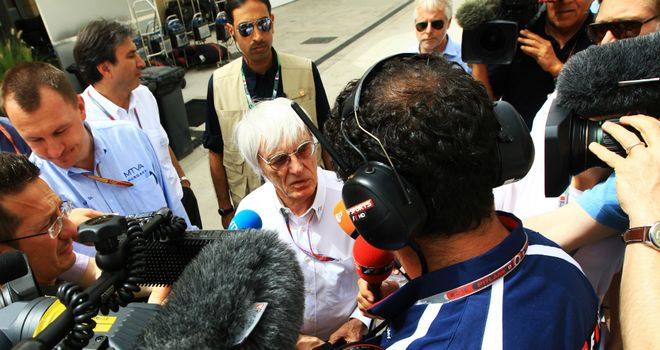 Bernie Ecclestone: Says German GP is 'on-off, on-off'