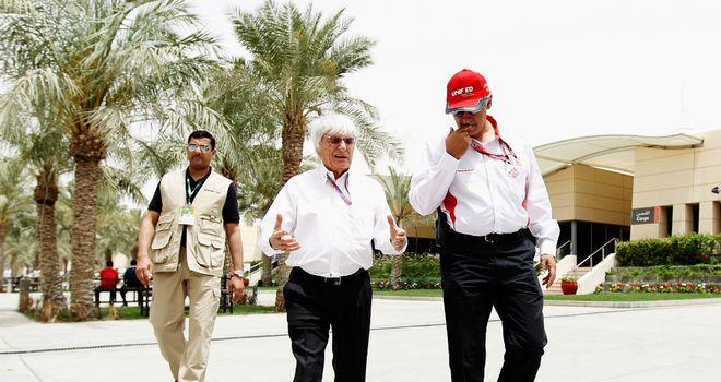 Bernie Ecclestone: Says Bahrain race will go ahead as planned
