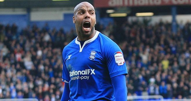 Marlon King: Birmingham City striker is relaxed ahead of the play-off tie with Blackpool