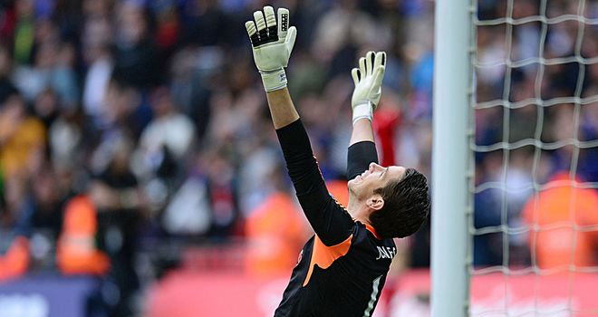 Brad Jones: Secured three points and an FA Cup final place during his two appearances