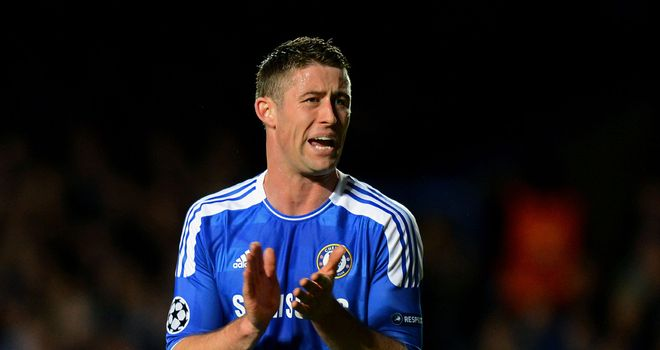 Gary Cahill: Put in a great defensive performance against Barcelona