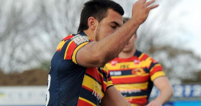 Damien Cardace: Talented youngster promoted to Catalans' senior squad