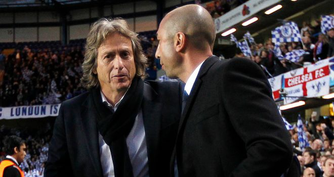 Jorge Jesus: Felt his Benfica side should have won against Chelsea