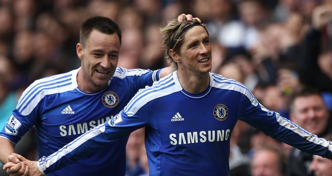 John Terry: Backing Fernando Torres to find his form