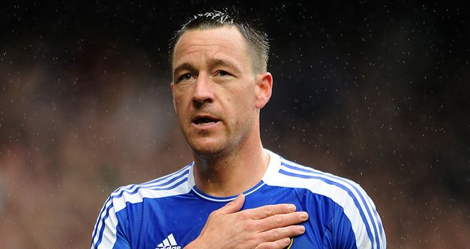 John Terry: Facing a court trial for alleged racial abuse of Anton Ferdinand