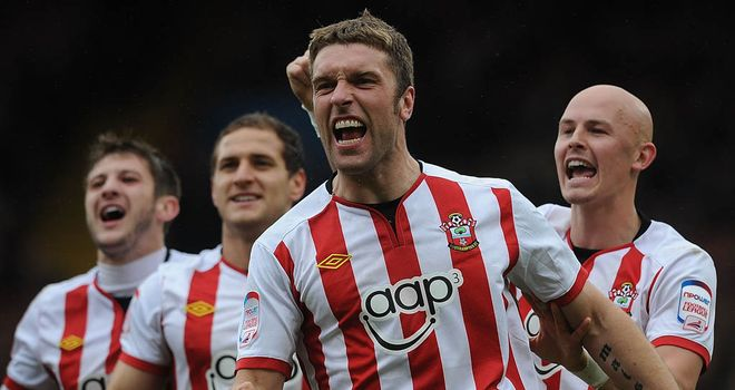 Rickie Lambert: Selected up front for Championship team