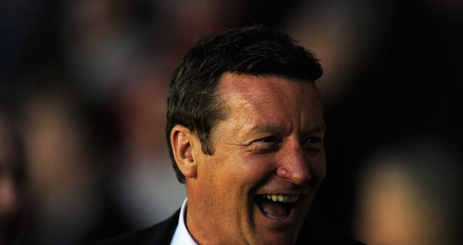 Danny Wilson: Ready for a battle at Wembley