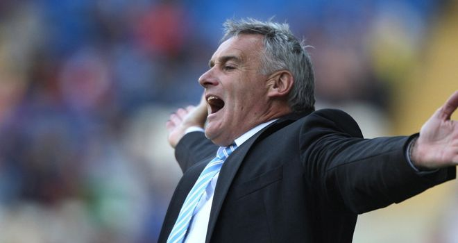 Dave Jones: Sheffield Wednesday manager was unhappy with the referee after the 1-0 defeat at Wolves