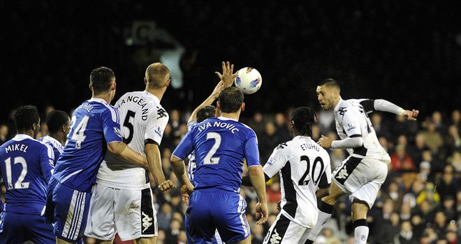 Clint Dempsey: Fulham striker found space against Chelsea and punished them