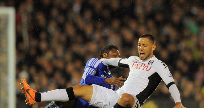 Clint Dempsey: Scored again in the draw with Chelsea and Martin Jol does not want to sell