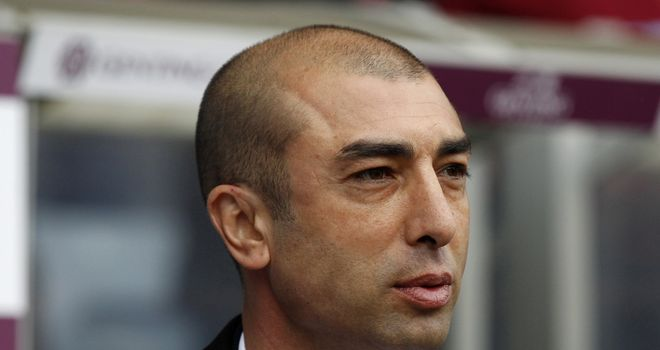 Roberto Di Matteo: Has hit out at Chelsea's critics after guiding the club to the brink of cup success