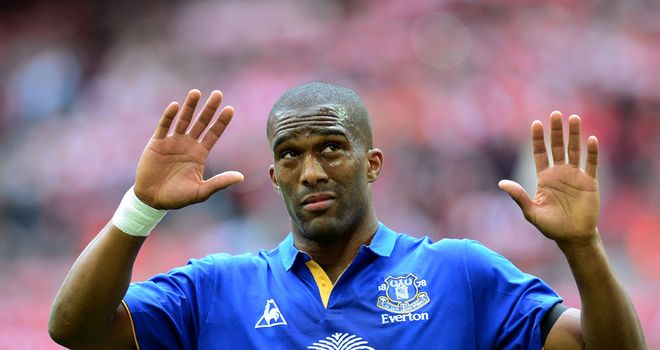 Sylvain Distin: The Frenchman is confident Everton can remain solid next term