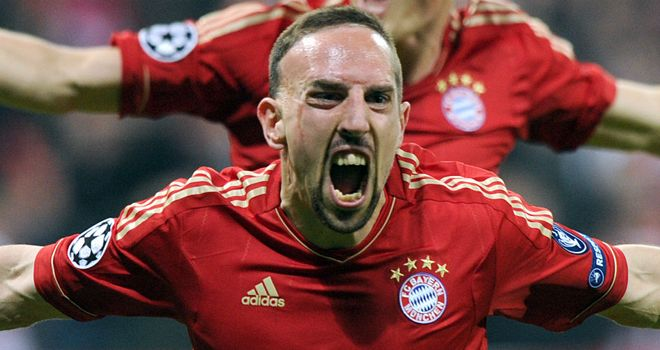 Franck Ribery: Bayern Munich winger has vowed to win the Champions League final against Chelsea
